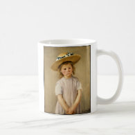 Cassatt's Child in Straw Hat - with a Sweet Smile Coffee Mug