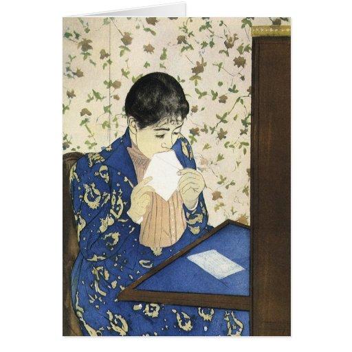 Cassatt's The Letter Greeting Card