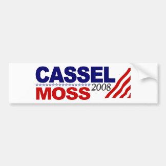 Cassel Moss 2008 Bumper Sticker