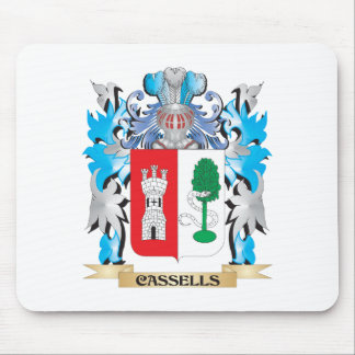 Cassells Coat of Arms - Family Crest Mouse Pad