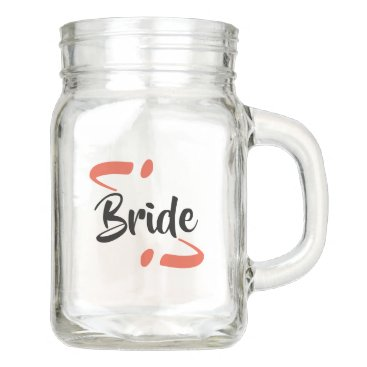 Casselly Customizable Wedding Mason Jar