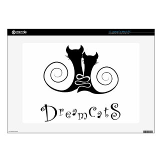 Casseminia - dreamcats with text skin for laptop