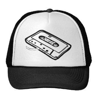 CASSETE TAPE LINE MESH HATS