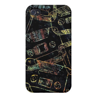 cassetes iPhone 4/4S cover
