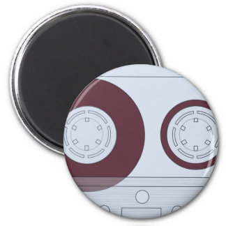 Cassette 2 Inch Round Magnet