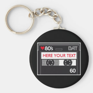 Cassette 80 ' s Custom Love Edition Keychain
