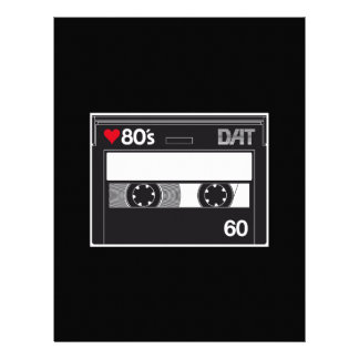 Cassette 80 ' s Custom Love Edition Letterhead
