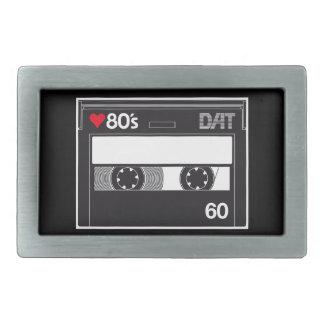 Cassette 80 ' s Custom Love Edition Rectangular Belt Buckle