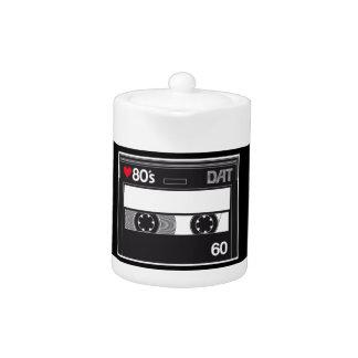 Cassette 80 ' s Custom Love Edition Teapot
