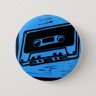 cassette blue button