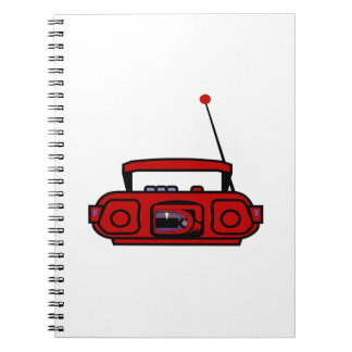 cassette boombox with notes blue.png spiral notebook