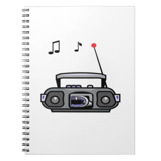 cassette boombox with notes grey.png spiral notebook