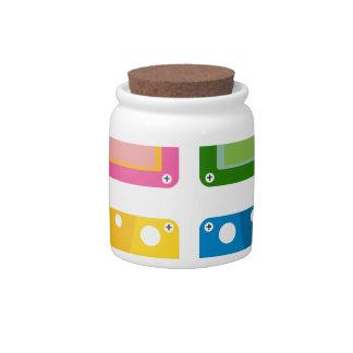 cassette candy jar