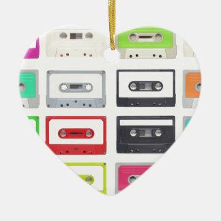 Cassette Ceramic Ornament