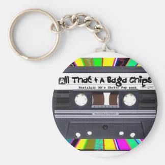 Cassette Color Blast Keychain