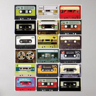 Cassette Crazy Print