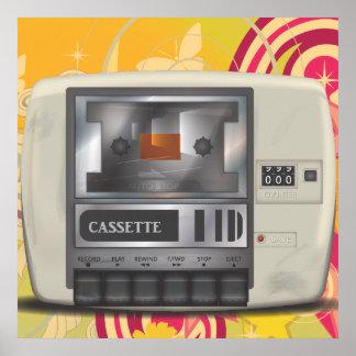 Cassette Deck Poster