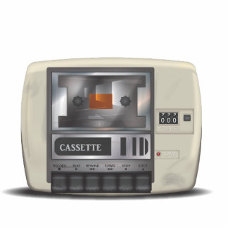 Cassette Deck Statuette