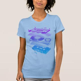 Cassette Explosion View - Music Tape Retro DJ T Shirt