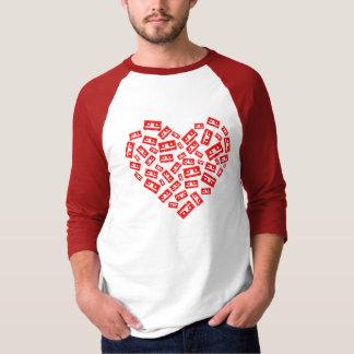 Cassette Heart T-shirt