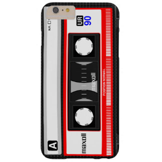 cassette image barely there iPhone 6 plus case
