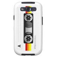Cassette label case galaxy s3 cases
