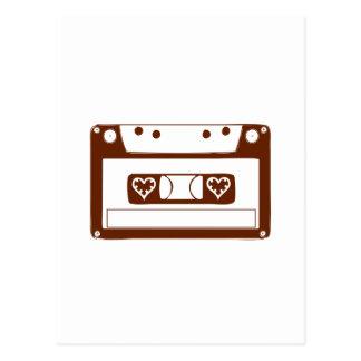 Cassette Love Postcard