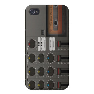 Cassette Mixer Recorder iPhone 4/4S Case Cover