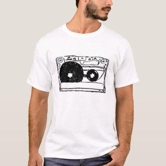Cassette Music Tape Sketch T-Shirt