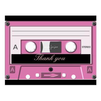 Cassette,Old School_ Post Card