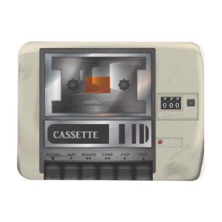 Cassette player magnet