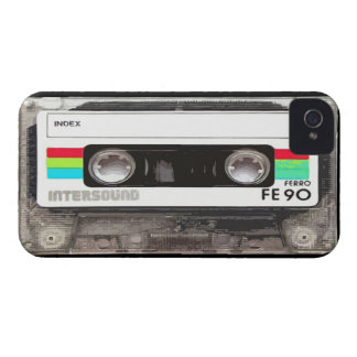 cassette record music retro  sound tape song songs iPhone 4 Case-Mate case