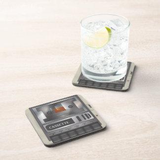 Cassette Recorder Drink Coaster