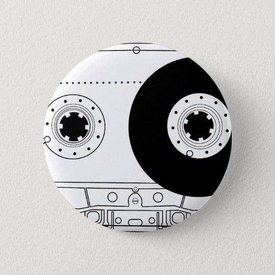 cassette retro graphic vintage t-shirt casette button
