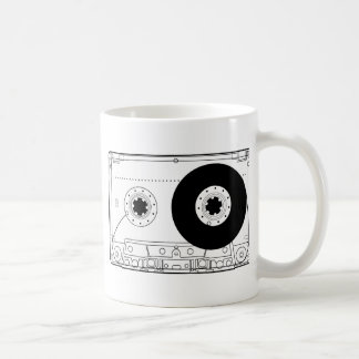 cassette retro graphic vintage t-shirt casette coffee mug