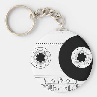 cassette retro graphic vintage t-shirt casette keychain