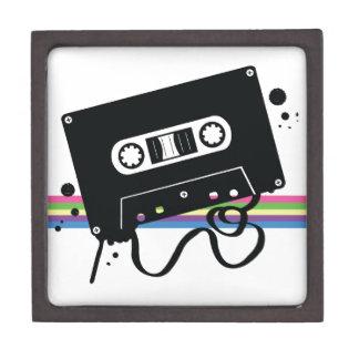 Cassette Retro Love Jewelry Box