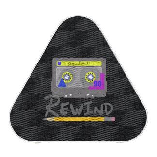 Cassette Rewind Speaker