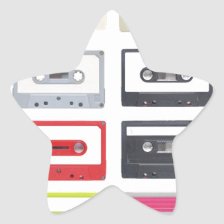 Cassette Star Sticker