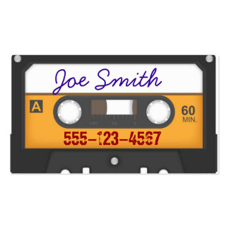 Cassette style Business Card
