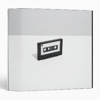 Cassette Tape 2 3 Ring Binder