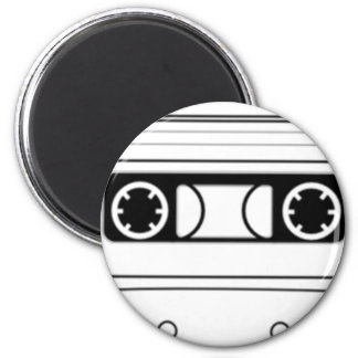 Cassette Tape 2 Inch Round Magnet