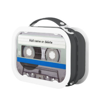 Cassette Tape 2 Lunch Box
