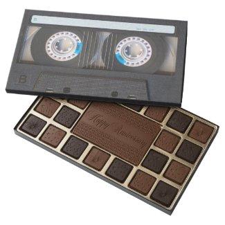 Cassette Tape 45 Piece Box Of Chocolates
