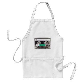 Cassette Tape Adult Apron