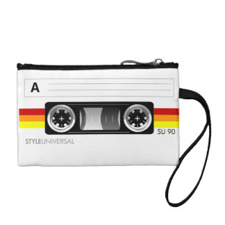 Cassette tape Bagette Coin Wallet