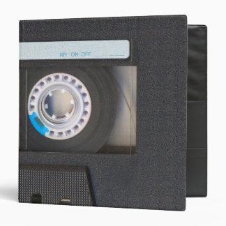 Cassette Tape Vinyl Binder