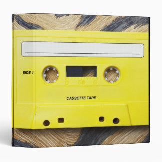 Cassette Tape Vinyl Binders