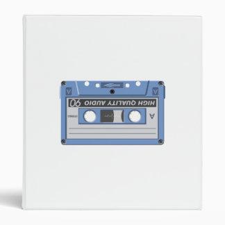 Cassette Tape 3 Ring Binders