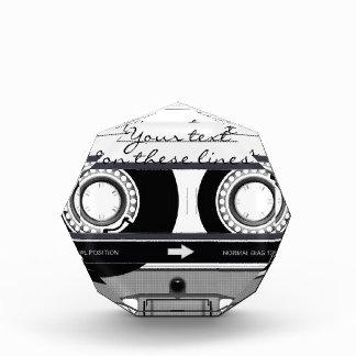 Cassette tape - black - award
